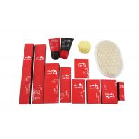 Buy cheap Disposable Hotel Amenities Set , Hotel Room Amenities Red Black Color 14 Items from wholesalers