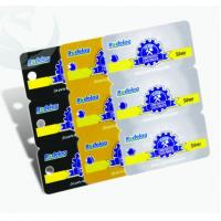 Buy cheap Unique Square Plastic PVC Business Cards 3-in-1 0.3mm-1.0mm Thickness from wholesalers