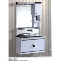 Buy cheap Hangzhou Glass Counter Bath Cabinet Hanging Contemporary Cabinet Manufacture from wholesalers