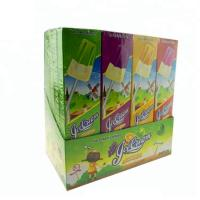 Buy cheap Light Up Fruit Lollipops Ice Cream Shape With Dragonfly Toy Confectionery from wholesalers