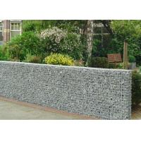 Buy cheap Heavy Zinc Coated Galvanized Wall Basket Square Hole Shape For Gardens / Parks from wholesalers