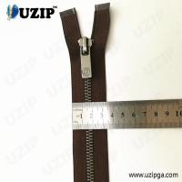 Buy cheap China suppliers #7 anti sliver heavy duty separating jacket zippers from wholesalers