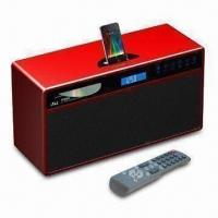Buy cheap 2.1-channel Music Center for Apple's iPod, with Video Output and Built-in CD Player from wholesalers