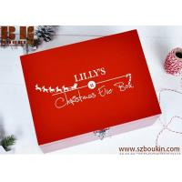 Buy cheap Christmas Eve Box WITH FREE GIFT Personalised Wooden Christmas eve Box from wholesalers