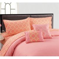 Buy cheap Embroidery 4/6pcs Sheet Set Microfiber Bedding set from wholesalers