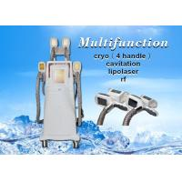 Buy cheap Cryolipolysis slmming machine , fat reducing loss weight body slimming machine from wholesalers