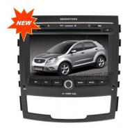 Buy cheap Ssangyong Korando Auto Audio Car DVD Player with GPS,PIP,TV. product
