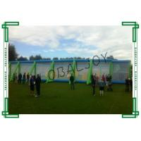 Buy cheap PVC Tarpaulin Standard Inflatable Paintball Arena Double Stitch Durable Net from wholesalers