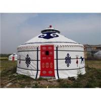 Buy cheap 2 - 10m Diameter Mongolian Round Tent / Yurt Style House With Steel Structure product