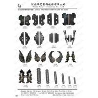 Buy cheap Offer Wrought Iron Hinges and Hand Forge Decorative from wholesalers