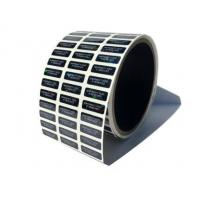 Buy cheap Custom Printing Tamper Proof Seal Stickers Pieces / Rolls Gloss Lamination from wholesalers