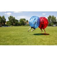 Buy cheap Customized Large Inflatable Bubble Soccer , Plastic Bubble Ball Soccer Inflatable from wholesalers