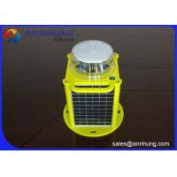 Buy cheap Red Sloar Powered Marine Lanterns Lights 256 Light Characters IALA IP68 Protection from wholesalers