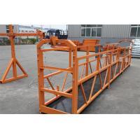 Construction Maintenance Hanging Suspended Access Platforms 500KG 1.5KW ZLP500