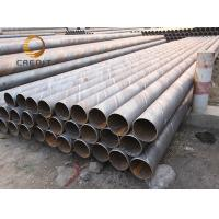 Buy cheap Gas Water Oil Transportation SSAW Carbon Steel Pipe Water Seamless Steel Pipe supplier API Black Seamless Steel Pipe from wholesalers