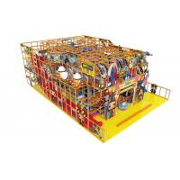 Buy cheap Childrens Indoor Soft Playground Equipment Anti - Static For Amusement Park product