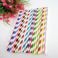 Buy cheap Color biodegradable paper straw factory,Disposable straw price,Paper straws drinking straws supplier from wholesalers