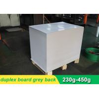 Buy cheap Waterproof CCNB Grey Card Paper Board , Grey Recycled Paper Roll Eco Friendly product
