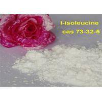 Buy cheap Natural Health Supplements 99 HPLC amino acid cas 72-18-4 l isoleucine from wholesalers