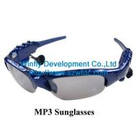 China fashion mp3 sunglasses on sale