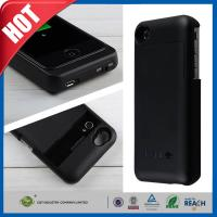 Buy cheap Black Cellular Phone External Backup Battery Charger Case 3200mah For iphone 4 4G 4S from wholesalers