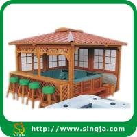 Buy cheap Outdoor Hot Tub Wooden Gazebo(WG-06) from wholesalers