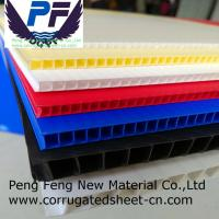 Buy cheap 2-12 mm polypropylene Plastic Corrugated Correx Coroplast for digital printing from wholesalers
