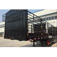Buy cheap SHMC 9402CLX 3 AXLES High Column Frame Customerized Color Semi Trailer from wholesalers