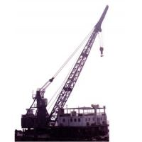 Buy cheap barge and ship unloading equipment---FQ10-20 pedestal floating quayside crane from wholesalers