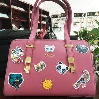 Buy cheap Removable Embossed Pu Leather Luggage Bags Labels / Tags / Stickers Patches from wholesalers