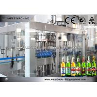 China CSD Juice Beer Filling Machine Purified Water Production Line 3500 ~ 4500BPH on sale