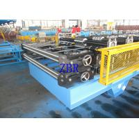 Buy cheap 1000MM Feeding Width Metal Roof Roll Forming Machine 0.6 Inch Chain Drive product