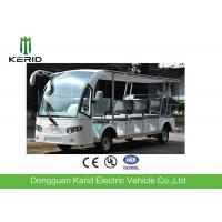 Buy cheap White 14 Seats Tourist Resort Car Battery Used Electric Sightseeing Car With Sunshade from wholesalers