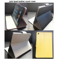 Buy cheap leather ipad cases, mini ipad leather case, ipad cover product