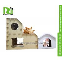 Buy cheap Customized Printing Cat Dog Cardboard Playhouse / House , Cardboard Toys For Kids from wholesalers