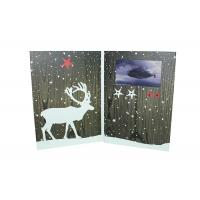 Buy cheap Custom Direct Mail Video Greeting Cards Say Hello To Your Clients Or Potential Customers from wholesalers