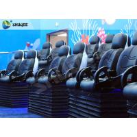 Buy cheap Blue Marine Theme 5d Cinema Theater With Kids Animation And 5D Motion Chairs In Marine Park from wholesalers