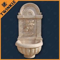Buy cheap Wall Natural Stone Water Fountains Outdoor , Modern Water Fountains from wholesalers