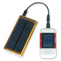 Buy cheap 3000mAh portable solar powered phone charger for iPhone from wholesalers