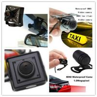 Buy cheap Recoda 420 / 700 / 800 Tvl Hidden Cameras In Cars Automotive For Reversing View product