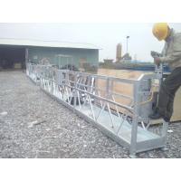 Buy cheap Temporary cradle , zlp630/zlp800 exporting construction gondola , electric suspended scaffolding , aerial work platform from wholesalers