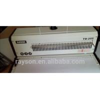 Buy cheap Square Hole A3 Size Steel Wire Binding Machine Binding 430 mm 50 Holes from wholesalers