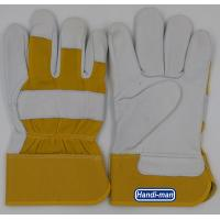 Buy cheap 10 inch Cowhide Leather with cotton back Working Gloves from wholesalers