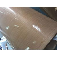 Buy cheap Adhesive PTFE Coated Fiberglass Fabric Smooth Surface With Aging Resistance,Beige,White,Brown,Black from wholesalers