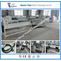 Buy cheap Eva LLDPE Vacuum Cleaner Spiral Hose Production Line PLC Control from wholesalers