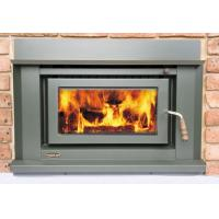 Buy cheap Low Emission Indoor Wood Fireplace Inset High Heat Ouput With Room Fan from wholesalers