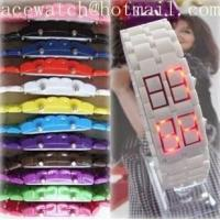 Buy cheap HOT plastic  lava led watch from wholesalers