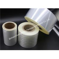 Buy cheap Good Surface Protection Heat Sealable BOPP Film And Transparent Heat Sealing Polyethylene Film product
