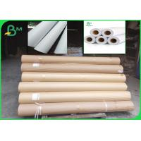 Buy cheap Inkjet Plotter Paper Rolls 70gsm Width 64 For HP Plotter A4 Size Free from wholesalers