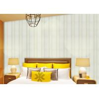 Buy cheap Modern Striped Non Woven Wallpaper For Entertainment / Administration , SGS CSA Approval from wholesalers